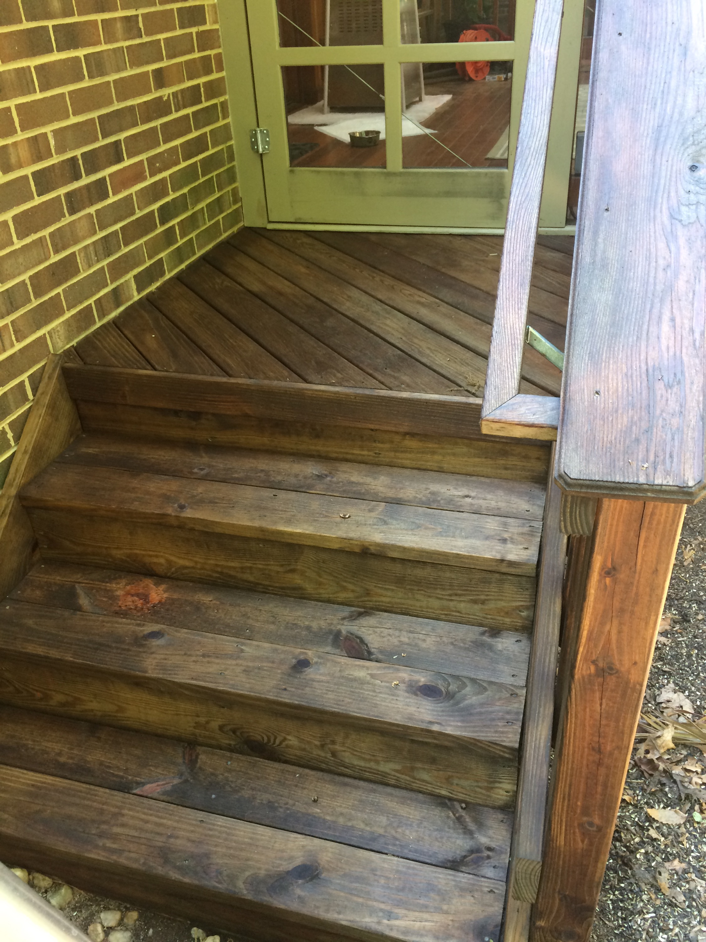 Refinishing Decks With Pine Tar And Raw Linseed Oil Is A